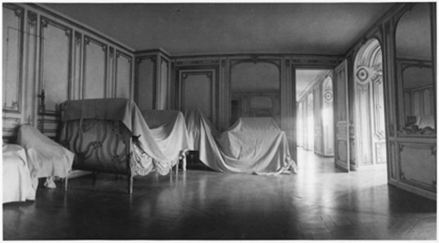 ", 'The Private Apartment of Madame du Barry at Versailles, from ""Unseen Versailles"",' 1980, Staley-Wise Gallery"