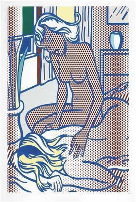 Roy Lichtenstein, 'Two Nudes, State I (C. 285)', 1994, David Benrimon Fine Art