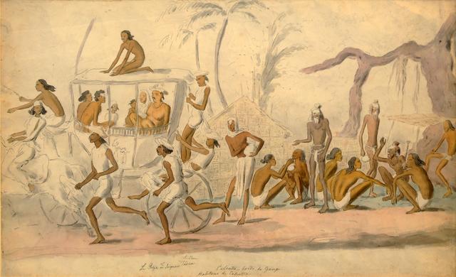 , 'Calcutta,' , Swaraj Art Archive