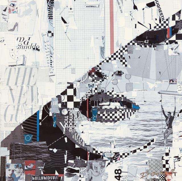 , 'Static series,' 2019, Derek Gores Gallery