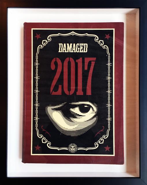Shepard Fairey, 'Damaged Eye Painted', 2017, StolenSpace Gallery