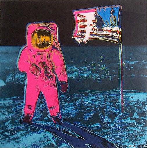 Andy Warhol, 'Moonwalk II.405', 1987, Print, Screenprint on Lenox Museum Board, OSME Fine Art