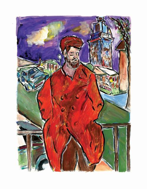 Bob Dylan, 'Man On A Bridge - Medium - 2008', 2008, Castle Fine Art