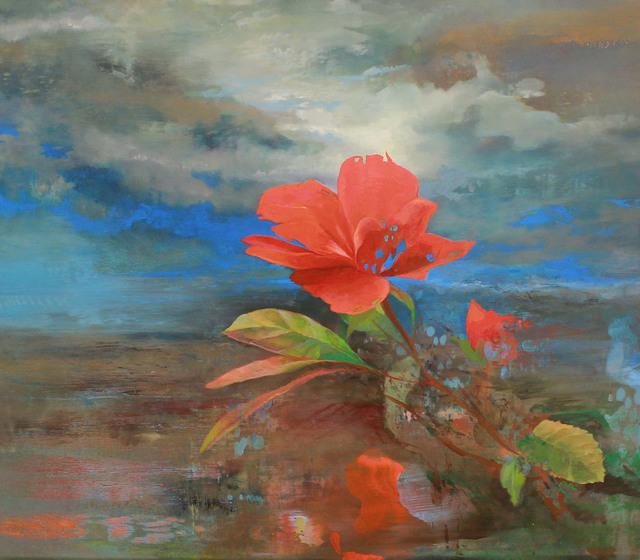 Aaron Holz, 'The Rose is off the Bloom, Babe', 2016, Kiechel Fine Art