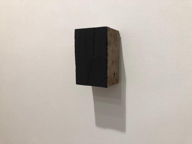 , 'Black Block Old Wood,' 2017, Sebastian Fath Contemporary