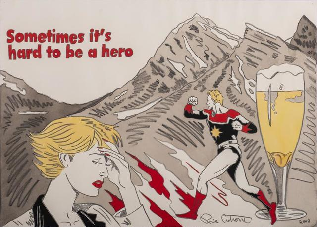 Ronnie Cutrone, 'Sometimes It'S Hard To Be A Hero', 2004, Itineris