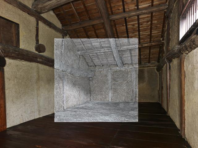 "Georges Rousse, '""Shodoshima"" ', 2018, Galerie Catherine Putman"