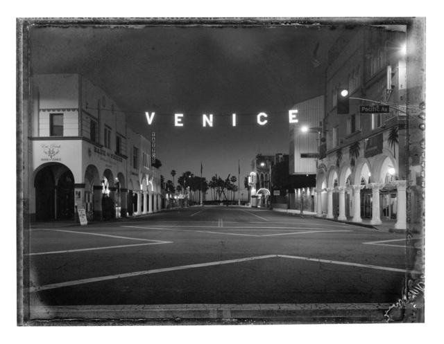 , 'Venice Sign, Venice,' 2017, Hamiltons Gallery