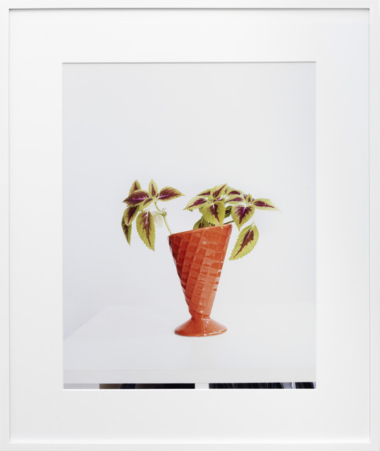 ", '""Untitled"" (Buntnessel 2),' 2011, KÖNIG GALERIE"