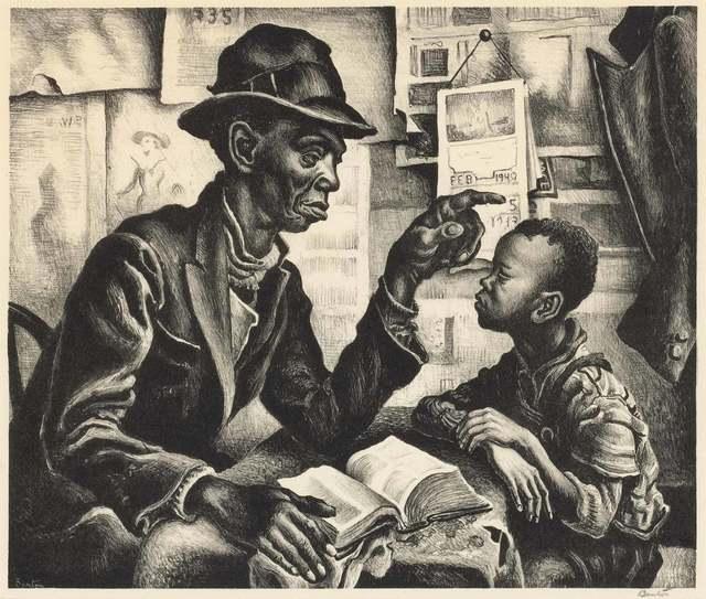 Thomas Hart Benton, 'INSTRUCTION (F. 41)', 1940, Doyle