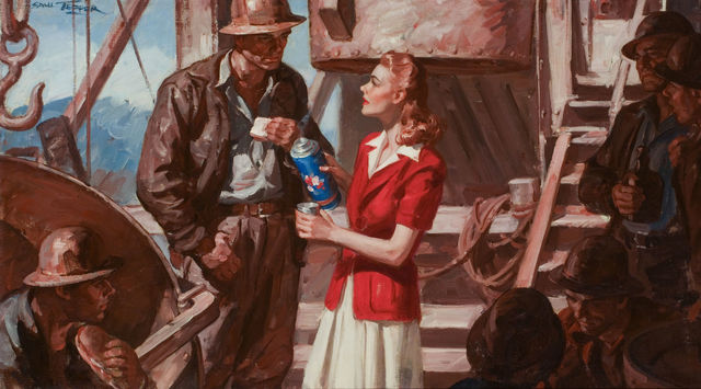 Saul Tepper, 'Speak Only With Your Heart, McCall's Illustration', 1942, The Illustrated Gallery