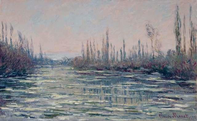 , 'Eisgang,' 1882, Kunstmuseum Bern