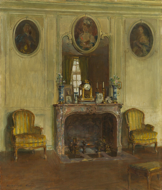 Walter Gay, 'Interior at the Chateau du Breau', Add Artwork year, Painting, Oil on canvas, Debra Force Fine Art