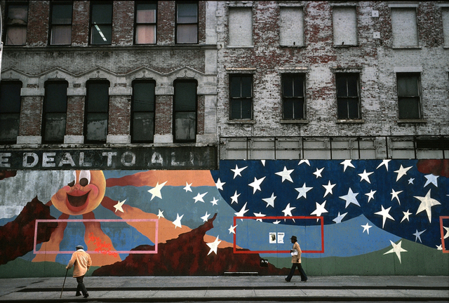 , 'Deal to All (E. 14th St. Union Sq. Pk.),' 1979, Inda Gallery