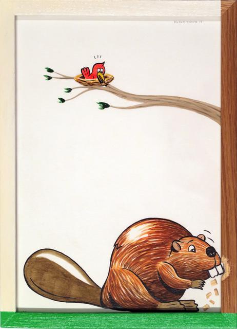 , 'The Beaver,' 2017, V1 Gallery