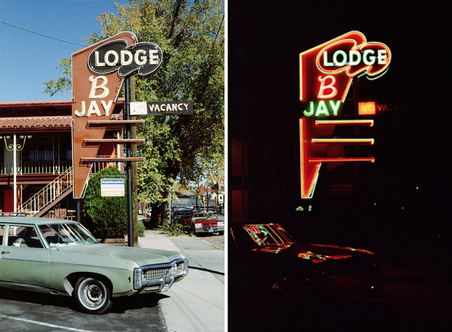 , 'Lodge B Jay Motel, Reno, Nevada,' 1976, Nederlands Fotomuseum