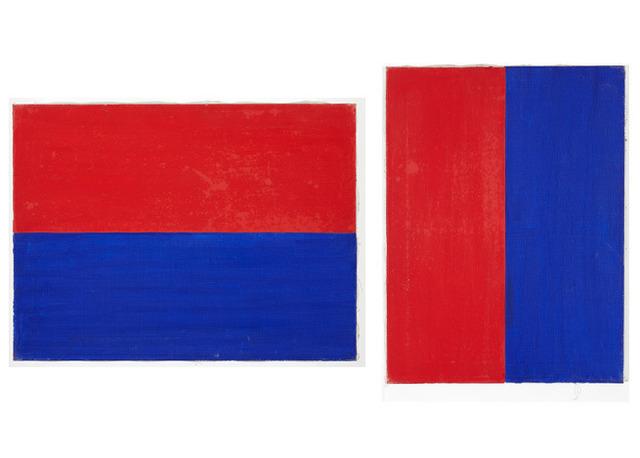 , 'R + B lodret-deling,R + B vandret-deling,' 1977, TIF SIGFRIDS