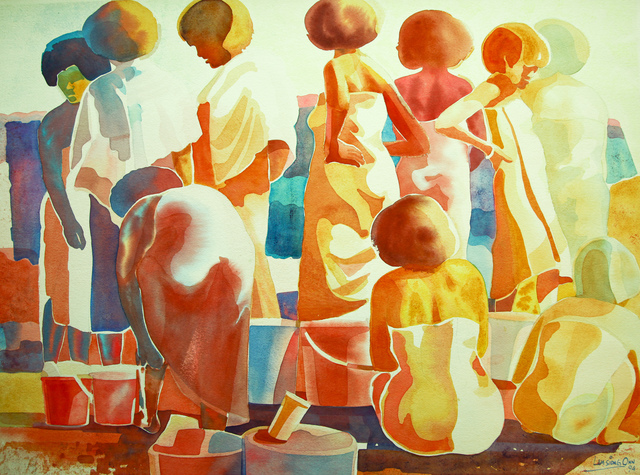 , 'Washing and Bathing - III,' 1994, Affinity ART