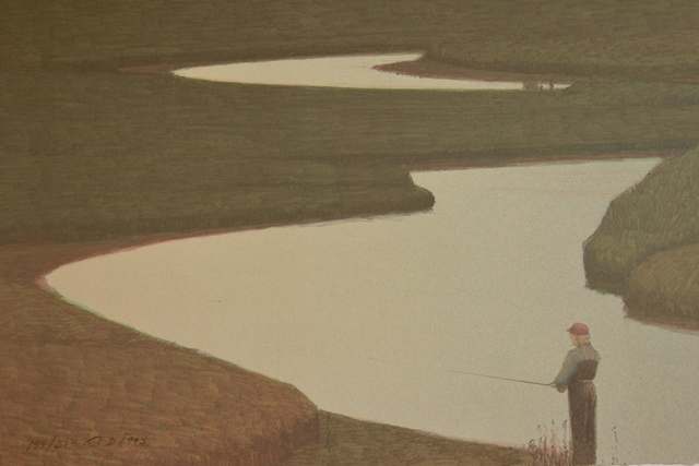 , 'GIBBON RIVER ON A SUMMER EVENING,' 1993, Fitzwater Street Gallery
