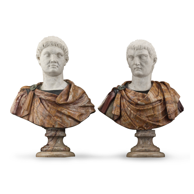 , '17TH-CENTURY ITALIAN PORTRAIT BUSTS,' 17th Century, M.S. Rau Antiques