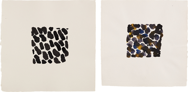 Jacqueline Humphries, 'Untitled; and Untitled', 1990, Phillips