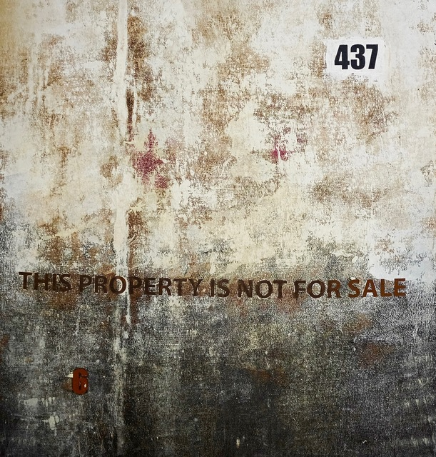, '437 (This Property Is Not For Sale),' 2016, ARTLabAfrica