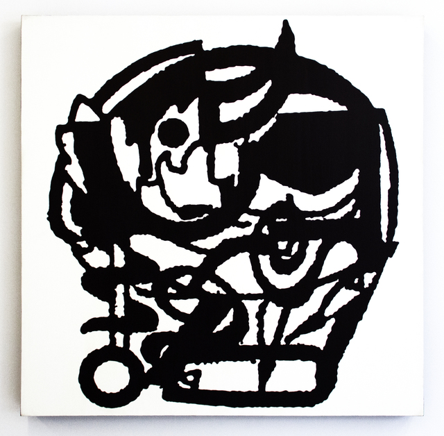 , 'Léger,' 1985, Magenta Plains