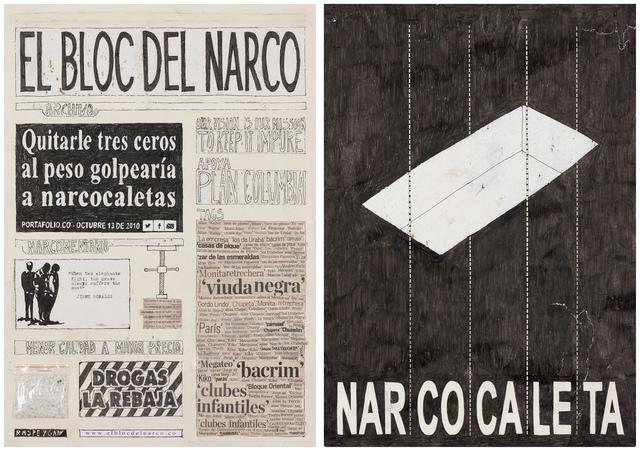 , 'El Bloc Del Narco #3,' 2016, Steve Turner