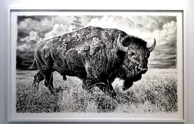 , 'Bison IV,' 2015, Sears-Peyton Gallery