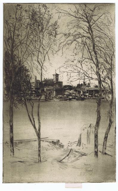 , 'Laburnums at Battersea,' 1889-1890, Gerrish Fine Art
