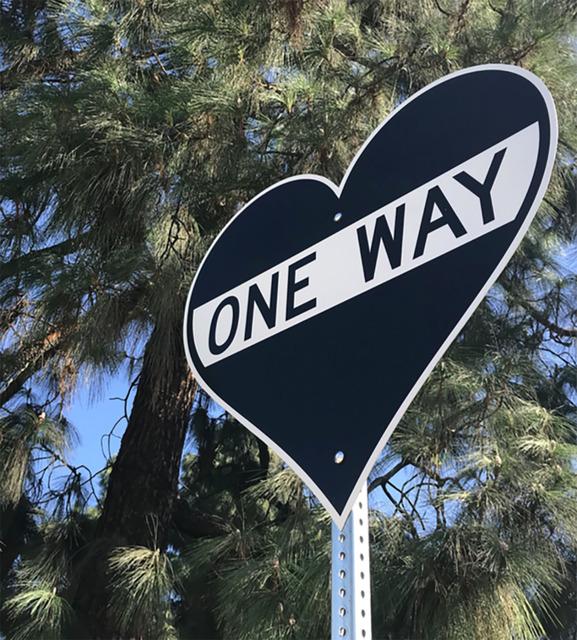 , 'One Way Heart,' 2017, Wallspace