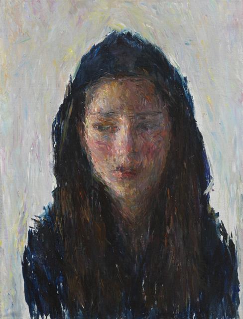 Daniel Enkaoua, 'Aure en capuche bleu marine foncé', 2017, Litvak Contemporary