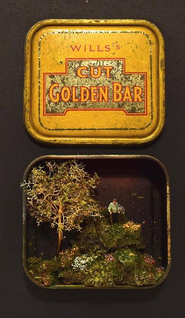 , 'Golden Bar V,' 2018, Hicks Gallery