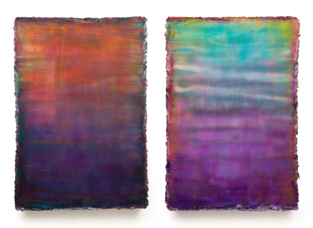 , 'Koro, Diptych,' 2011, SMUDAJESCHECK