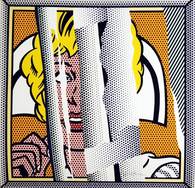 Roy Lichtenstein, 'Reflection of a Nurse (signed)', MSP Modern