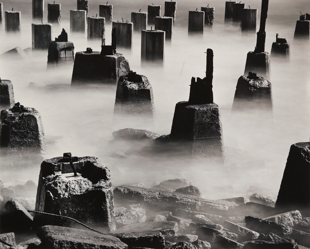 , 'The Pilings,' 1958, Seagrave Gallery
