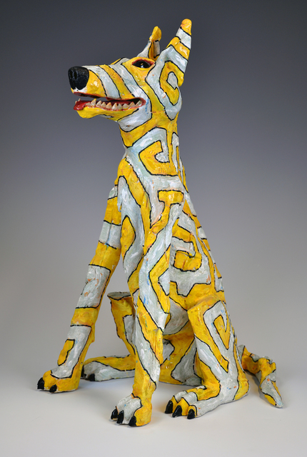 Jeff Downing, 'YaYa', 2015, Sculpture, Stoneware, slips, glaze, Gallery NAGA