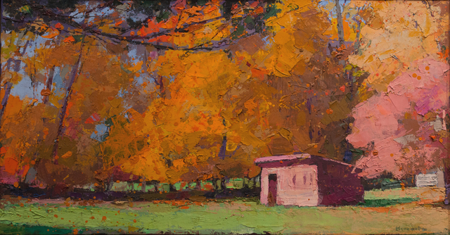 , 'Fall Color,' , Madelyn Jordon Fine Art