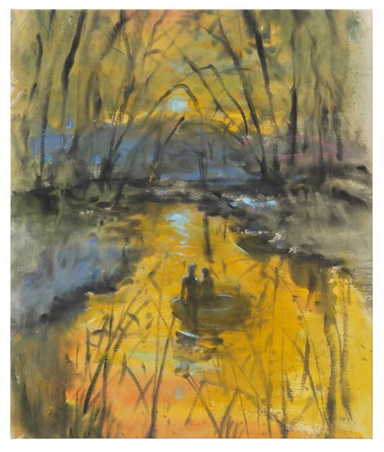 , 'Yellow pond,' 2018, DITTRICH & SCHLECHTRIEM