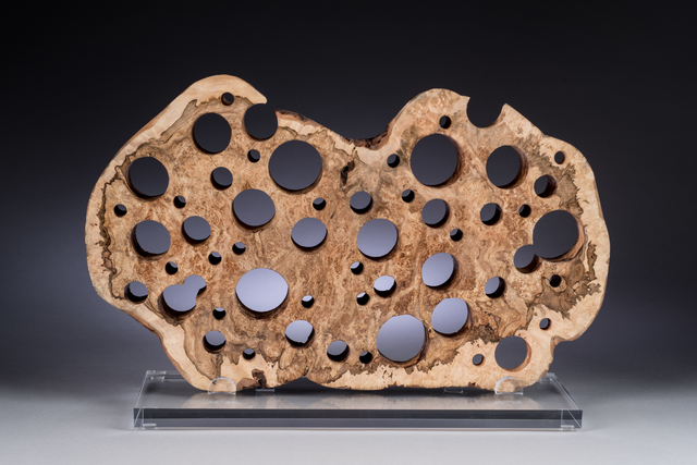, 'Exposed Burl,' , Momentum Gallery