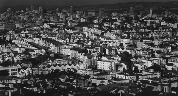 , 'View from Liberty Hill, San Francisco,' 1947, Scott Nichols Gallery