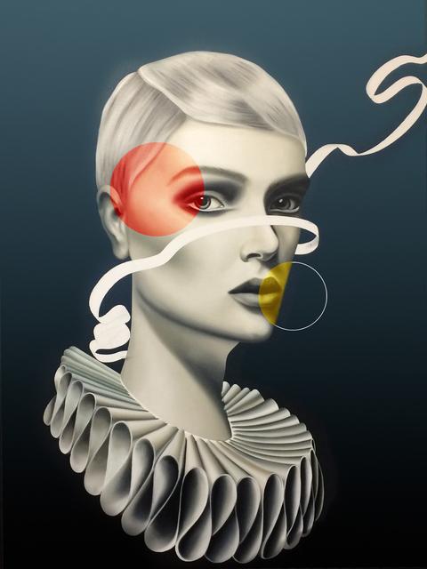 Alessandro Botto, 'Girl with circles', 2016, Enlace Arte Contemporáneo
