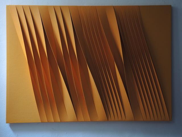 , 'Sincronico arancio oro,' 2015, Opera Gallery