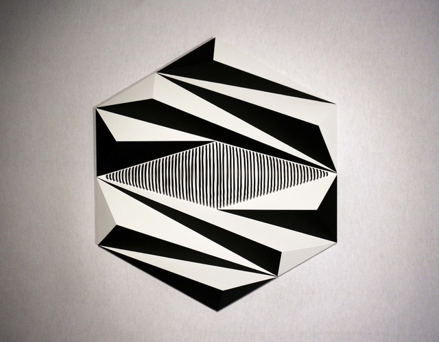 , 'Relief Hexagonal 02 ,' 2017, Galerie La Ligne