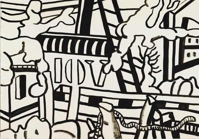 , 'Paysage de seine et oise,' 1953, Galeria Marc Domenech
