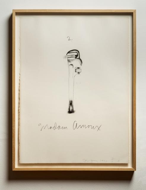 Jim Dine, 'Flaubert Favorites (Williams College 95-98)', 1972, Print, Lithographs (Set of 4), Wexler Gallery