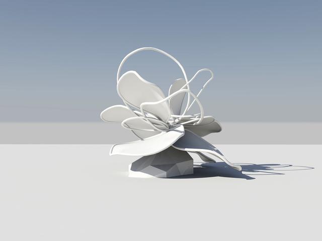 , 'Flower sculpture,' 2013, Galerie Koo