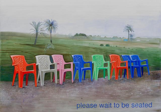 Johanna Kandl, 'Untitled (please wait to be seated)', 2018, Christine König Galerie
