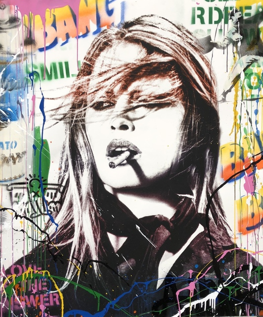 Mr. Brainwash, 'Brigitte Bardot ', 2018, Denis Bloch Fine Art