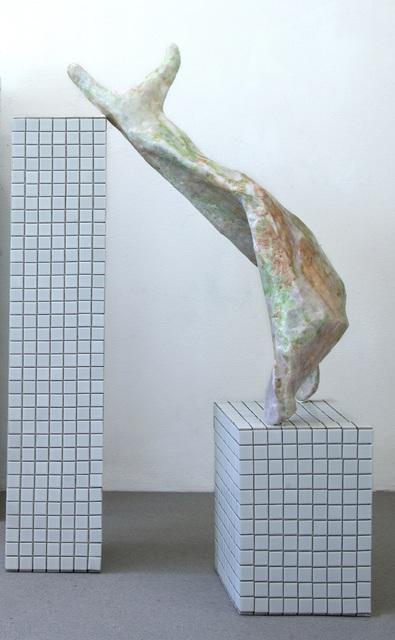 , 'neu scan_img019_lassnig drop_C,' 2017, Setareh Gallery